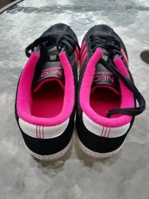 Adidas NEO Zapatilla brogue negro-rosa