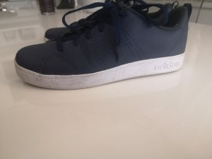 Adidas Originals Sneakers met veters wit-donkerblauw