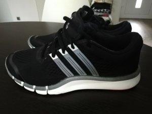 Adidas Sneaker slip-on bianco-nero Tessuto misto