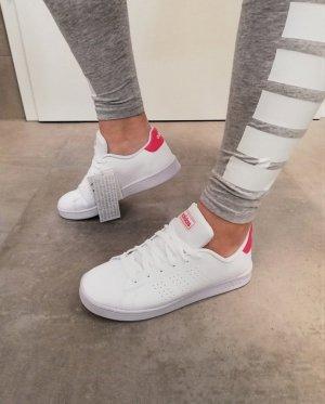 Adidas Sommer Sneaker weiß-pink neu 38.5