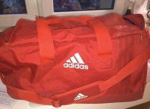 Adidas Bolsa de gimnasio rojo-blanco