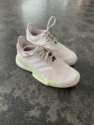 Adidas Zapatilla brogue gris claro-verde pálido