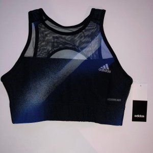 Adidas Sports Shirt dark blue-black