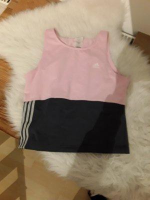 Adidas Originals Top sportowy w kolorze różowego złota-szary