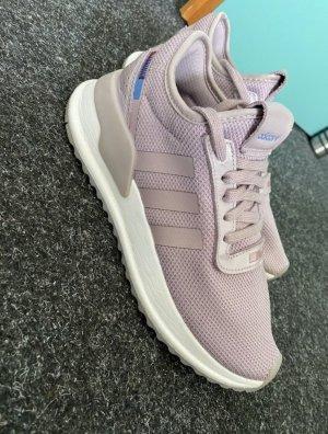 Adidas Originals Sznurowane trampki bladofiołkowy-szaro-liliowy