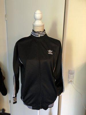 Adidas Chaqueta deportiva negro-blanco
