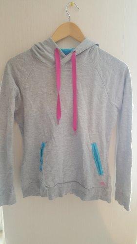Adidas Sport Kapuzenpullover Pulli Grau Sweater