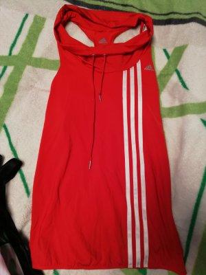 Adidas Maglietta sport bianco-rosso