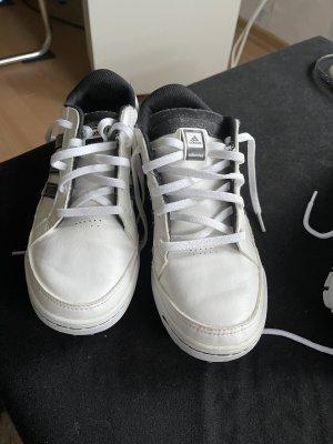 Adidas Zapatillas con tacón blanco-negro