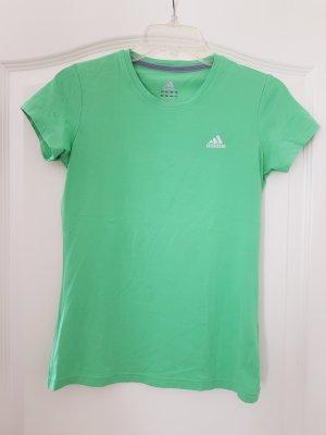Adidas Maglietta sport verde chiaro