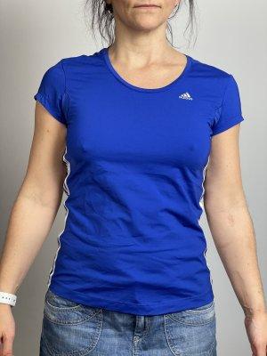 Adidas Sport Shirt blau Gr. S