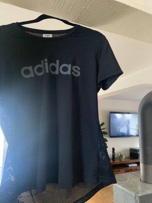 Adidas Camisa deportiva negro