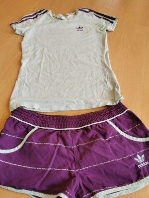Adidas Sport Shorts & T-shirt 34-36