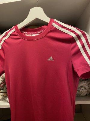 Adidas Camisa deportiva rojo neón