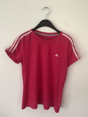 Adidas Sports Shirt magenta-raspberry-red