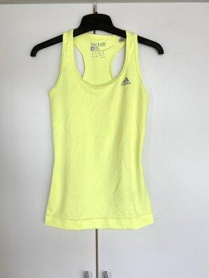 Adidas Tanktop żółty neonowy