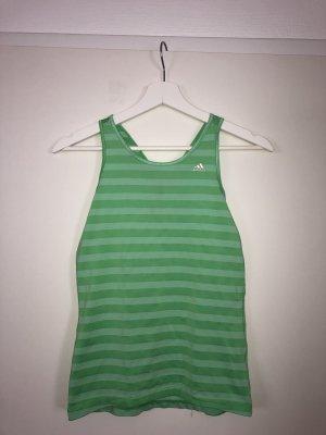 Adidas Débardeur de sport vert fluo-vert clair
