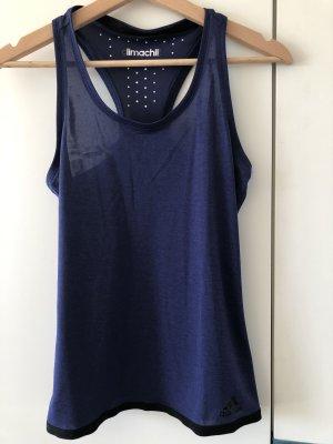 Adidas Sport Top Climachill Tanktop, indigo blau, AB6454