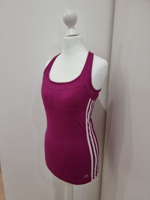Adidas Sporttop wit-violet