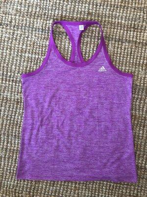 Adidas Canotta sportiva viola-lilla