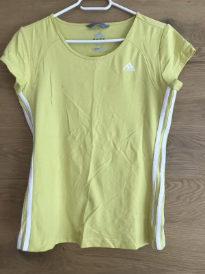 Adidas T-shirt sleutelbloem-wit
