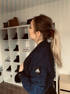 Adidas Giacca bomber blu scuro Poliestere
