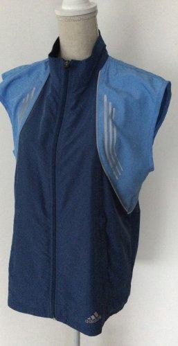 Adidas Chaleco deportivo azul oscuro-azul aciano Poliéster