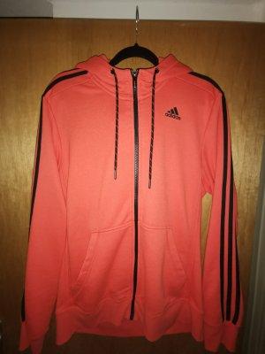 Adidas NEO Kurtka sportowa czarny-pomarańczowy neonowy