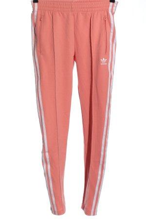 Adidas Pantalon de sport rose chair-blanc style décontracté