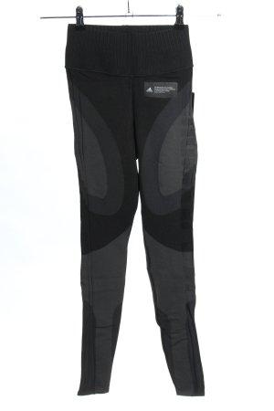 Adidas Sporthose schwarz-hellgrau sportlicher Stil