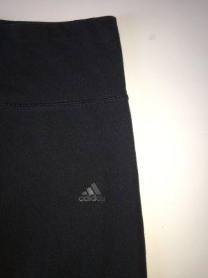 Adidas Sportbroek zwart Katoen