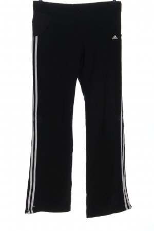 Adidas Trackies black-white striped pattern casual look
