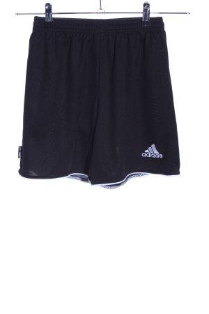 Adidas Sportbroek zwart casual uitstraling