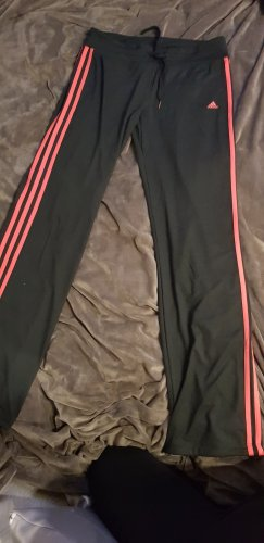 Adidas Originals Sportbroek zwart-lichtrood