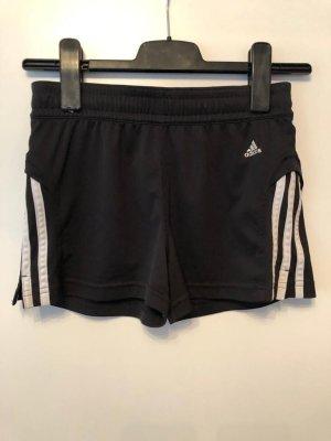 Adidas Szorty sportowe czarny-biały
