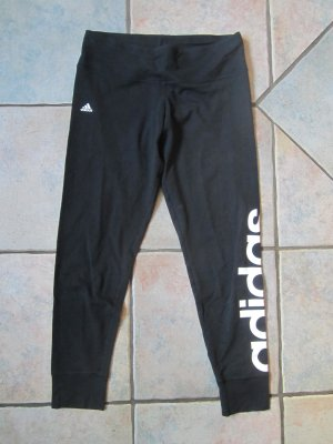 Adidas Sportbroek zwart-wit