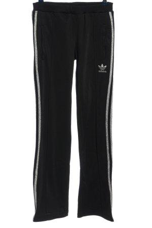 Adidas Sporthose schwarz Motivdruck sportlicher Stil
