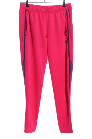 Adidas Trackies pink striped pattern casual look