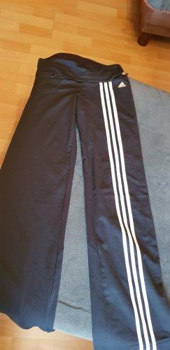 Adidas Originals Pantalon de sport noir-blanc cassé