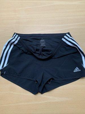 Adidas Pantalón corto deportivo negro Poliéster