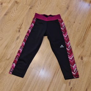Adidas Sporthose XS 32 34 stretch Capri Fitness Leggings Tights