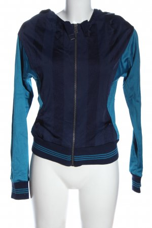 Adidas Veste de sport bleu motif rayé style décontracté