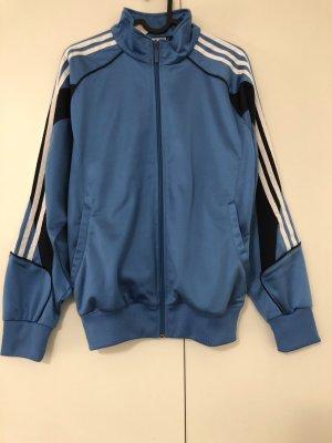 Adidas Kurtka sportowa stalowy niebieski-biały