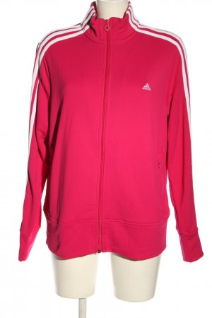 Adidas Sportjacke rot Casual-Look
