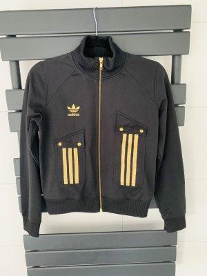 Adidas Originals Kurtka sportowa czarny-złoto