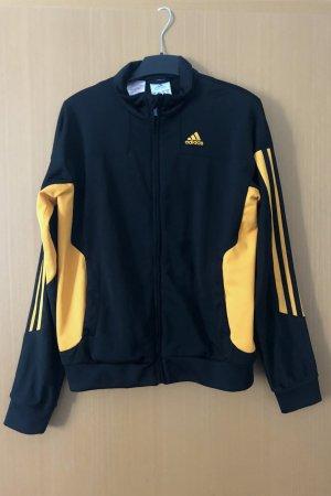 Adidas Chaqueta deportiva negro-naranja claro Poliéster