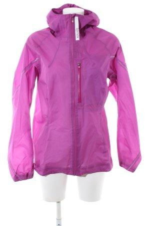 Adidas Chaqueta deportiva rosa look casual