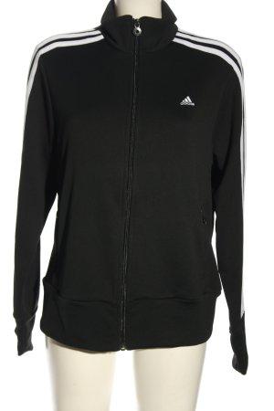 Adidas Kurtka sportowa czarny W stylu casual