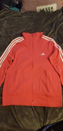 Adidas Originals Giacca sport bianco sporco-rosso chiaro