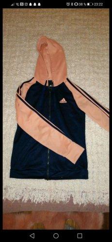 Adidas Giacca sport rosa-blu